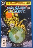 INVASION  #1 The Alien Alliance (1988) DC Comics FINE