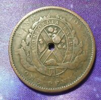 Canada Coin: 1837 One Penny ( Deux Sous) Bank Token - Province du Bas
