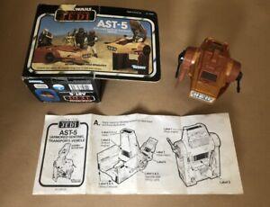 Vintage Star Wars AST-5 ARMORED SENTINEL TRANSPORT VEHICLE ROTJ Kenner 1983