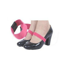 7bcd97da5ae4b 2 Pairs Elastic Shoe Strap Lace Band for Holding Loose High Heel Shoes  Decor Apricot