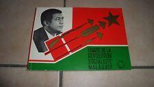 CHARTE DE LA RÉVOLUTION SOCIALISTE MALAGASY - tous azimuts - 1975 BE rare