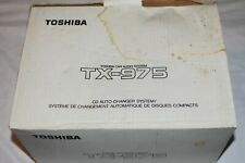 Toshiba Tx-975 10-Disc Cd Auto Changer System (Made in Japan 1995)