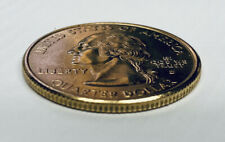 24K Gold Plated Uncirculated U.S.A. State Quarters