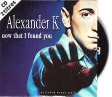 Alexander K - Now That I Found You - CDS - 1997 - Europop 3TR Cardsleeve