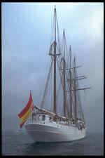 257071 Juan Sebastián De Elcano cuatro Masted Schooner España A4 Foto Impresión