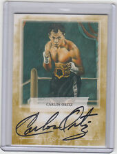 2009 RINGSIDE ROUND ONE CARLOS ORTIZ GOLD /10 SSP  A-CO1 AUTOGRAPH/ AUTO*