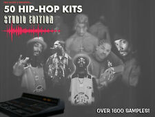 50 Hip Hop Kits: Studio Edition - .wav Samples Download