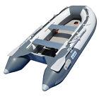 BRIS 9.8 ft Inflatable Boat Dinghy Yacht Tender Raft Pontoon With Air Floor