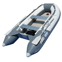 BRIS 9.8 ft Inflatable Boat Dinghy Yacht Tender Raft Pontoon With Air Floor