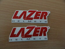 2 autocollants LAZER STICKER CASQUE MOTO STICKERS NEW NEUF