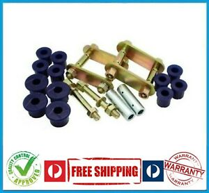 HOLDEN RODEO RA 4X4 03-08 REAR LEAF SPRING GREASABLE SHACKLE PIN & BUSHING KIT