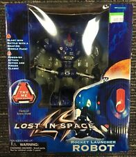 LOST IN SPACE 1997 ROCKET LAUNCHER ROBOT Action Figure with Movie Sounds
