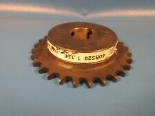 "Martin Sprocket 40BS29 1 1/4"" Bore,40 Chain,29 Teeth(Tsubaki,Browning 40 29,UST)"