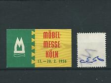 WBC. - CENERENTOLA / Poster-ce06-Europa-Mobel messe-KOLN - 1956