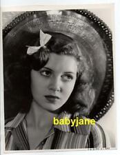 LANA TURNER ORIGINAL 8X10 PHOTO EARLY PORTRAIT 1938 SAMUEL GOLDWYN PICTURES DBWT