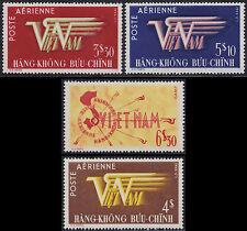 VIETNAM EMPIRE PA N°1/3 + 9* ,1952-1953 South Vietnam Sc#C1-C4 Airmail Set MH