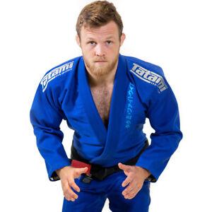 Tatami Fightwear Estilo Black Label BJJ Gi - Gray/Blue
