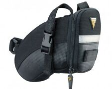 Topeak Aero Wedge Pack Under Saddle / Seat Bag Pack with Straps - Small