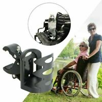 Universal Fit Wheelchair Walker Bike Stroller Beverage Drink Cup Holder New