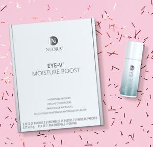 CLEARANCE SALE 35%OFF Neora Age IQ Eye Serum & Eye-V Moisture Hydrogel Patch SET