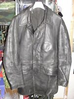 Veste de feu Sapeur Pompier taille S années 1970-1980 en cuir