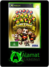 Super Monkey Ball Deluxe (Xbox & Xbox 360 playable) Very Good - Free Post