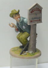 Norman Rockwell Porcelain Figurine > Speed Trap > The Danbury Mint