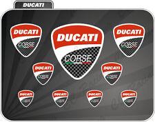 Adesivi Ducati KIT SCUDETTI per monster 916, 996, 998, 1098, 1198, 848, 696 796