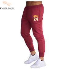 Kobe Bryant 24 Fleece Sweatpants Men's Track Pants Casual Clothing Basketball
