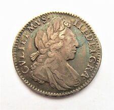 Willam III 1702 Fourpence