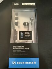 NEW Sennheiser MM70i In-Ear Headset with Smart Remote and Mic for Apple iOS BNIB