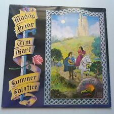 Maddy Prior & Tim Hart - Summer Solstice Vinyl Album LP Folk NM Canada Press