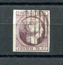 1853.ESPAÑA.EDIFIL 18(o).PRECIOSO.BORDE DE HOJA.MARQUILLADO..CAT 170€