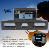LCD Digital Pitch Gauge Blades Angle Measure Tool 0.1° For Flybarless Helicopter