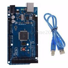 ATmega2560 16AU MICROCONTROLLER BOARD + USB CABLE FOR ARDUINO MEGA2560 MODULE R3