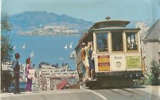 Postcard: USA - San Francisco. Cable Car-Hyde Street