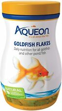 Goldfish Food Flakes Diet Daily Nutrition Pond Fish Healthy Feeding 7.12 OZ