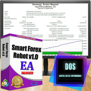 EA Smart Forex Robot (build 1170) reliable and profitable for MT 4