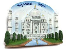 Taj Mahal, INDIA SOUVENIR RESIN 3D FRIDGE MAGNET SOUVENIR TOURIST GIFT