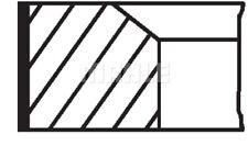 MAHLE Kolbenringsatz 028 14 N0 für AUDI SEAT VW KTM SCIROCCO 5K1 138 GOLF 137 6