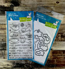 Lawn Fawn Meow You Doin? cat kitten birthday stamp and die set
