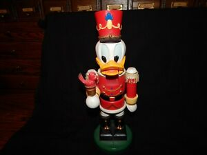 Donald Duck Nutcracker H1235 Walt Disney Collection Kurt Adler -100% original