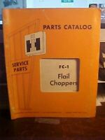 8/68 IH FC-1 Flair Choppers Parts Catalog  (1M)