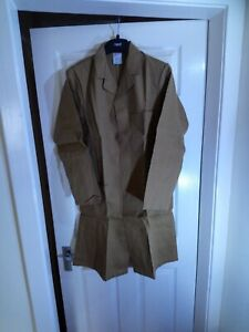 Warehouse Dust Coat WorkShop. Brown (100% COTTON) Brand New Size Only 36in Chest