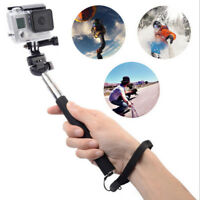 Selfie Stick Extendable MonoPod Selfies+Tripod Mount for GoPro Hero 4 3+ 3 2 1