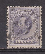 NVPH Netherlands Nederland 28 H used 121/2-12 gr.g Willem III 1872-1888 Pays Bas