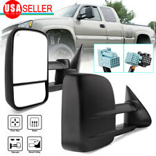 Tow Mirrors for 03-06 Chevy Silverado Gmc Sierra Power Heated 07 Classic