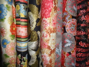 FAT QUARTER  RED ROOSTER JAPANESE STYLE QUILTING FABRIC-9 DESIGNS 100% COTTON