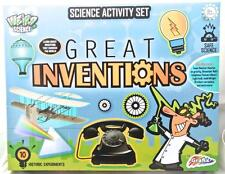 Great Inventions that Changed the World Science Activity Set for Kids Age 8+ FUN
