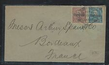 LOURENCO MARQUES (PP2806B) 15+50 PROVISIORIO COVER TO FRANCE